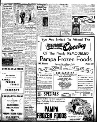 Pampa Daily News from Pampa, Texas on June 20, 1947 · Page 9