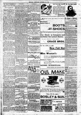 The Daily Chronicle from Centralia, Washington on September 28, 1897 · Page 2
