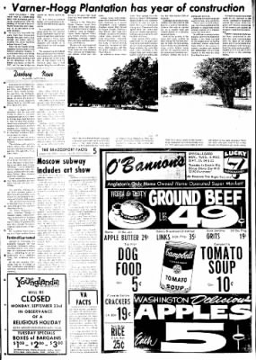 The Brazosport Facts from Freeport, Texas on September 22, 1968 · Page 5