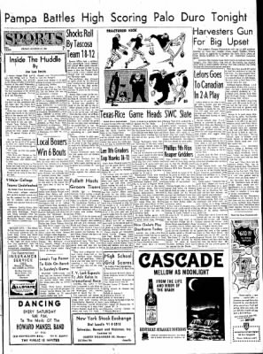 Pampa Daily News from Pampa, Texas on October 27, 1961 · Page 7