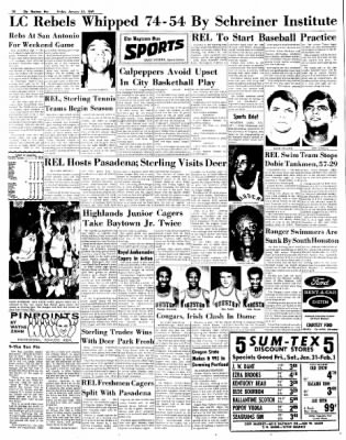 The Baytown Sun from Baytown, Texas on January 31, 1969 · Page 10