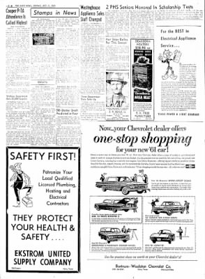 The Paris News from Paris, Texas on October 9, 1960 · Page 6
