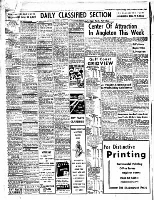 The Brazosport Facts from Freeport, Texas on October 6, 1959 · Page 4