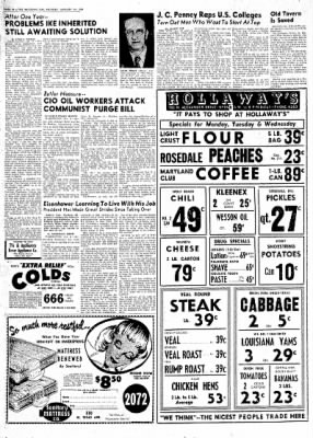 The Baytown Sun from Baytown, Texas on January 18, 1954 · Page 10