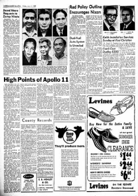 Brownwood Bulletin from Brownwood, Texas on July 11, 1969 · Page 10