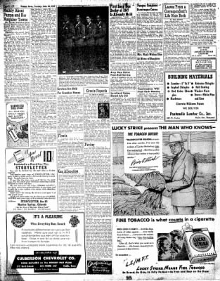 Pampa Daily News from Pampa, Texas on June 24, 1947 · Page 8