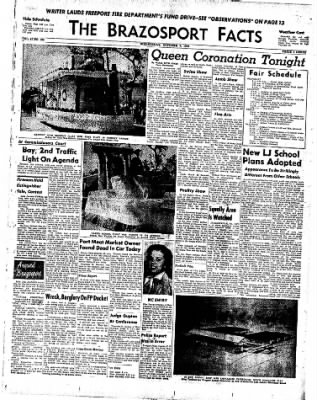 The Brazosport Facts from Freeport, Texas on October 7, 1959 · Page 1