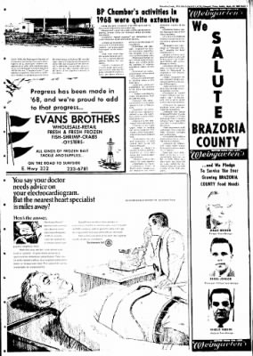 The Brazosport Facts from Freeport, Texas on September 22, 1968 · Page 29