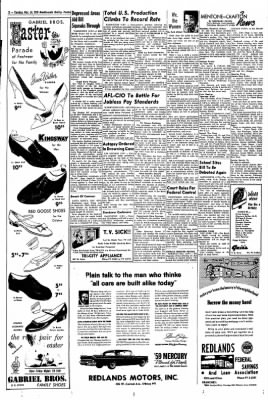 Redlands Daily Facts from Redlands, California on March 24, 1959 · Page 2