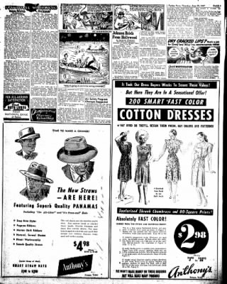 Pampa Daily News from Pampa, Texas on June 26, 1947 · Page 3
