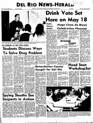 Del Rio News Herald from Del Rio, Texas on April 22, 1971 · Page 1