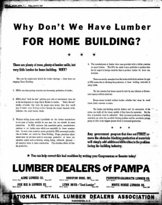 Pampa Daily News from Pampa, Texas on March 8, 1946 · Page 12