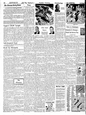 Pampa Daily News from Pampa, Texas on October 31, 1961 · Page 10
