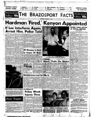 The Brazosport Facts from Freeport, Texas on October 11, 1959 · Page 1