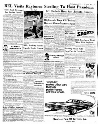 The Baytown Sun from Baytown, Texas on February 4, 1969 · Page 7