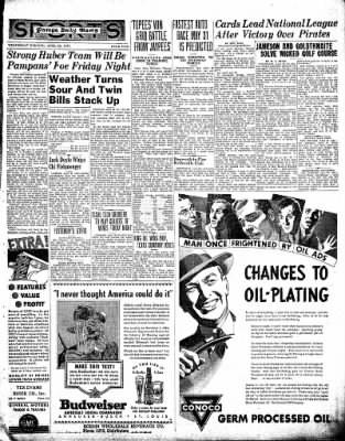 Pampa Daily News from Pampa, Texas on April 28, 1937 · Page 5