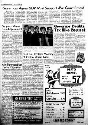 Brownwood Bulletin from Brownwood, Texas on December 7, 1967 · Page 12