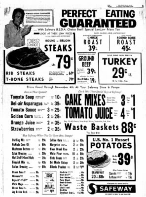 Pampa Daily News from Pampa, Texas on November 2, 1961 · Page 5