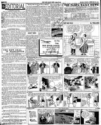 Pampa Daily News from Pampa, Texas on February 18, 1935 · Page 2