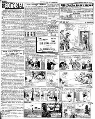 Pampa Daily News from Pampa, Texas on February 19, 1935 · Page 2