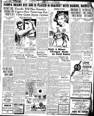 Pampa Daily News from Pampa, Texas on February 19, 1935 · Page 3