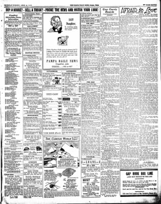 Pampa Daily News from Pampa, Texas on April 29, 1937 · Page 10