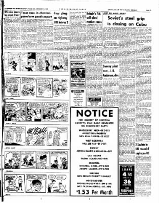 The Brazosport Facts from Freeport, Texas on September 16, 1962 · Page 11