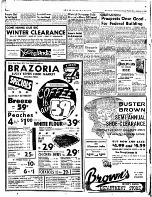 The Brazosport Facts from Freeport, Texas on January 11, 1961 · Page 2