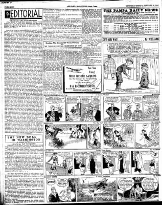 Pampa Daily News from Pampa, Texas on February 20, 1935 · Page 8