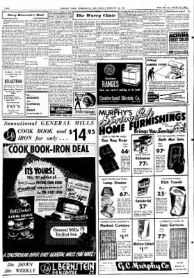 Cumberland Evening Times from Cumberland, Maryland on February 29, 1952 · Page 2