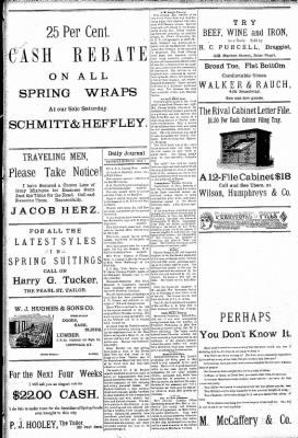 Logansport Pharos-Tribune from Logansport, Indiana on May 9, 1891 · Page 8