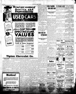 The Tipton Daily Tribune from Tipton, Indiana on April 30, 1930 · Page 2