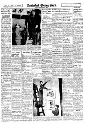 Cumberland Evening Times from Cumberland, Maryland on February 29, 1952 · Page 11