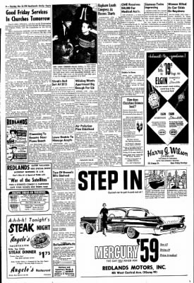 Redlands Daily Facts from Redlands, California on March 26, 1959 · Page 4