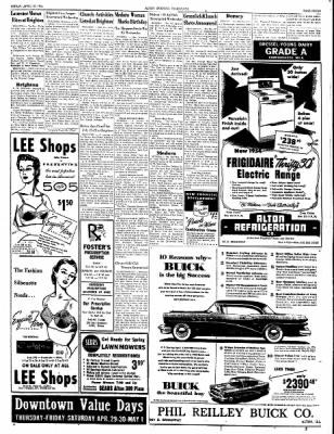 Alton Evening Telegraph from Alton, Illinois on April 30, 1954 · Page 7