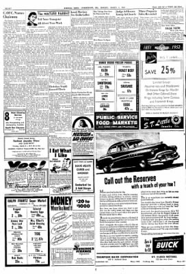 Cumberland Evening Times from Cumberland, Maryland on March 3, 1952 · Page 8