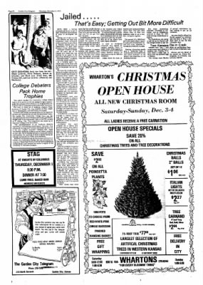 Garden City Telegram from Garden City, Kansas on December 1, 1977 · Page 16