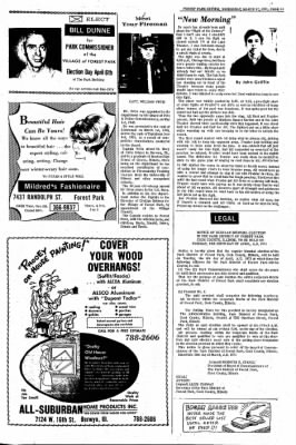 Forest Park Review from Forest Park, Illinois on March 17, 1971 · Page 13