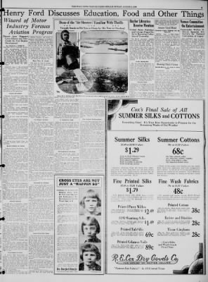 The Waco News-Tribune from Waco, Texas on August 5, 1928 · Page 5