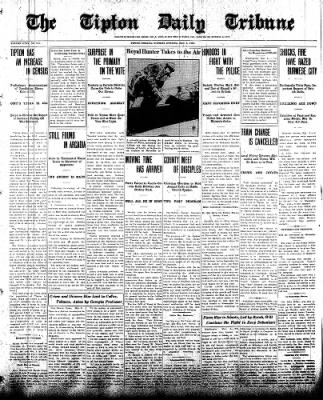 The Tipton Daily Tribune from Tipton, Indiana on May 6, 1930 · Page 1