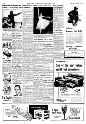 Cumberland Evening Times from Cumberland, Maryland on March 4, 1952 · Page 10