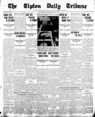 The Tipton Daily Tribune from Tipton, Indiana on May 7, 1930 · Page 1