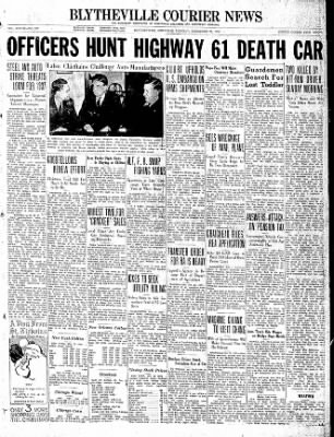 The Courier News from Blytheville, Arkansas on December 21, 1936 · Page 1