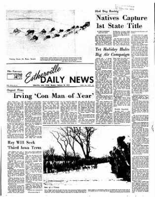 Estherville Daily News from Estherville, Iowa on February 14, 1972 · Page 1