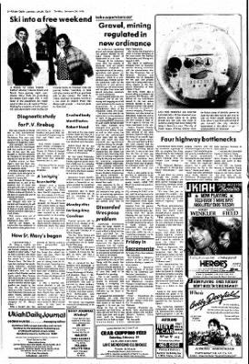 Ukiah Daily Journal from Ukiah, California on January 29, 1978 · Page 2