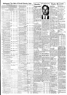 Carrol Daily Times Herald from Carroll, Iowa on November 28, 1967 · Page 10