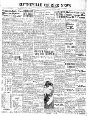 The Courier News from Blytheville, Arkansas on January 12, 1940 · Page 1