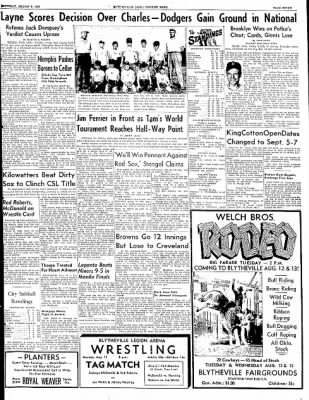 The Courier News from Blytheville, Arkansas on August 9, 1952 · Page 7