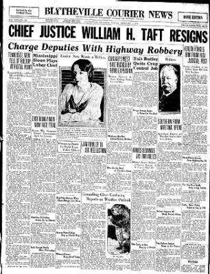 The Courier News from Blytheville, Arkansas on February 3, 1930 · Page 1