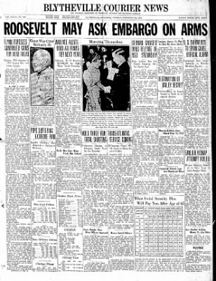 The Courier News from ,  on December 29, 1936 · Page 1